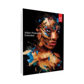 Adobe Photoshop CS6 Extended Box Lacrado