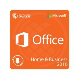 Licença Microsoft Office 2016 Home & Business FPP - ESD