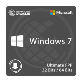 Licença Microsoft Windows 7 Ultimate FPP