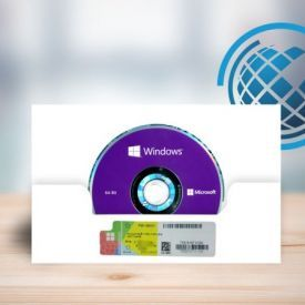 Microsoft Windows 10 Professional OEM FQC-08932+DVD COA