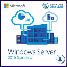 Licença Microsoft Windows Server 2016 Standard ESD