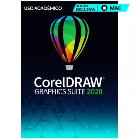 CorelDRAW Graphics Suite Suite 2020 MAC Versão Educacional